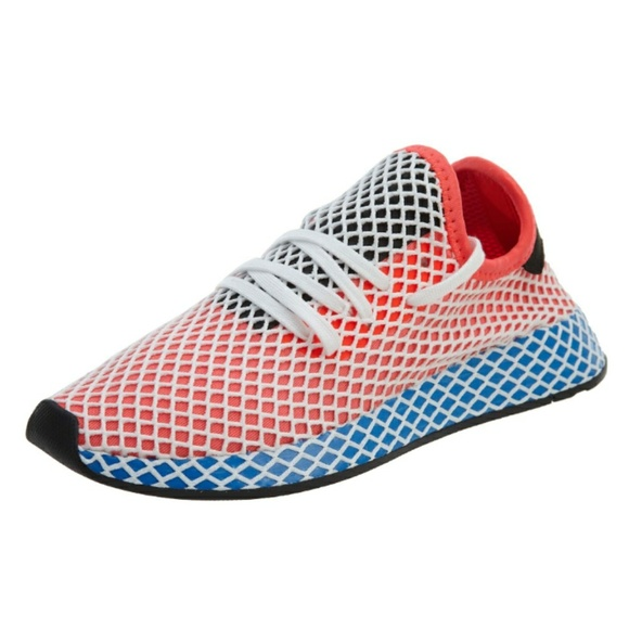 buy popular 85ff1 525af 18 adidas Originals Deerupt Runner Solar Red Blu